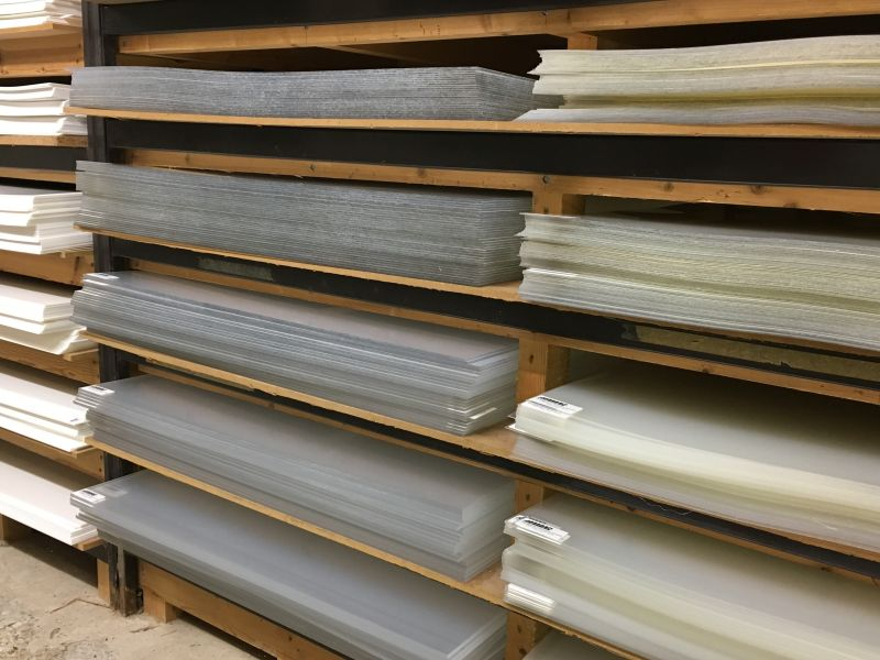 All sheets are 850mm x 850mm